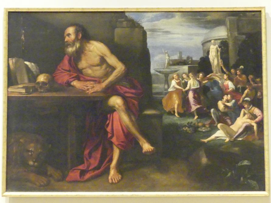 Bartolomeo Gennari (Umkreis): Die Versuchungen den hl. Hieronymus, um 1645