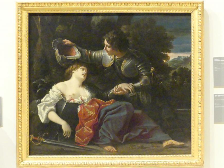 Sisto Badalocchio: Tancredi tauft Clorinda, um 1609 - 1610