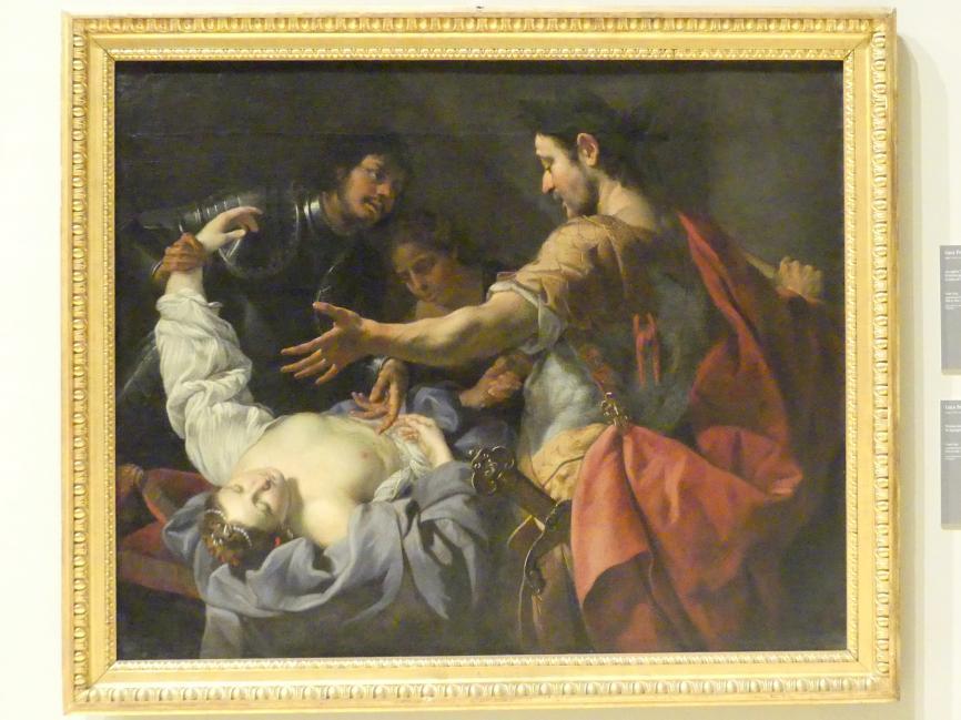 Luca Ferrari: Nero vor Agrippinas Leiche, 1644 - 1649