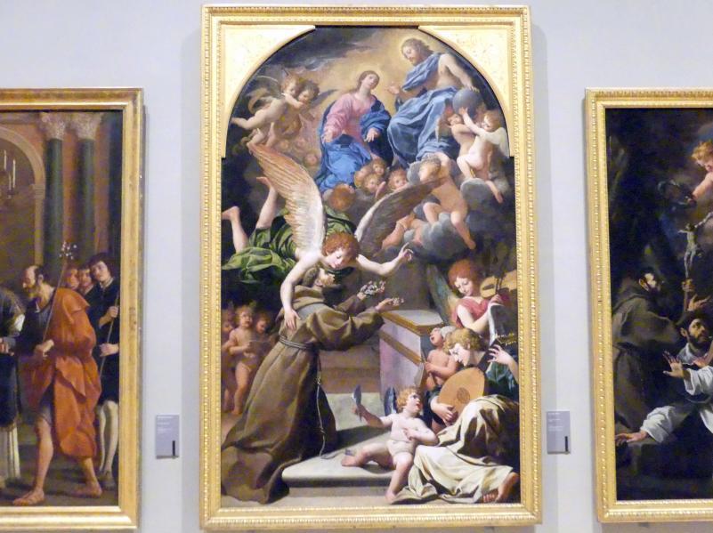 Leonello Spada: Die Vision des hl. Franziskus, 1617 - 1618