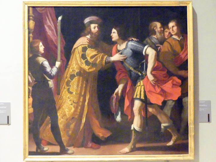 Ercole Gennari: Abreise Catos aus Utica, 1636