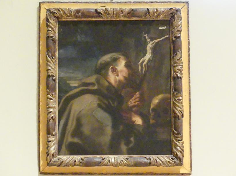 Elisabetta Sirani: Kreuzanbetung des Heiligen Franziskus, 1664
