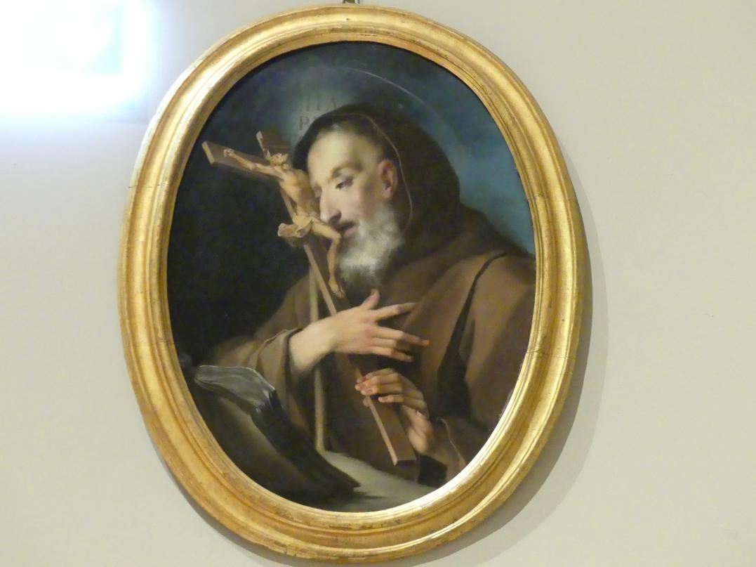 Ignaz Stern: Heiliger Franz von Paola umarmt das Kreuz, um 1730 - 1740