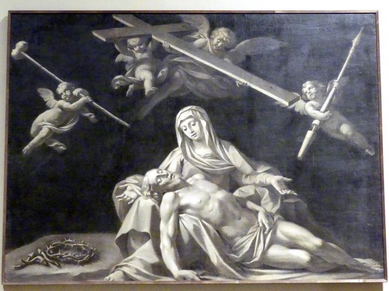 Antonio Consetti: Pietà und Engel mit den Arma Christi, 1. Hälfte 18. Jhd.