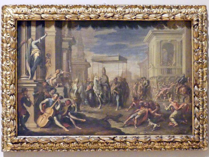 Sigismondo Caula: Ein Wunder des Heiligen Ambrosius, 1670 - 1675