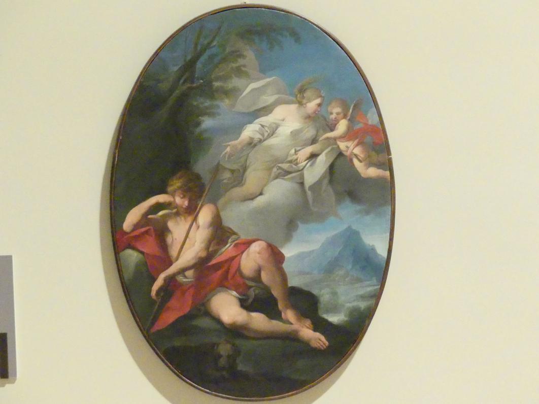 Francesco Vellani: Diana und Endymion, Um 1750 - 1760