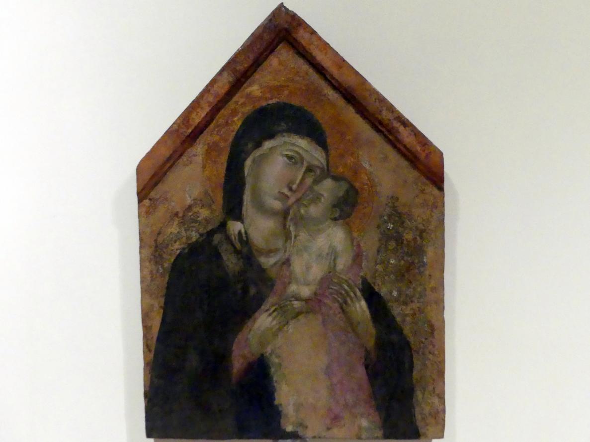 Maria mit Kind, Beginn 14. Jhd.