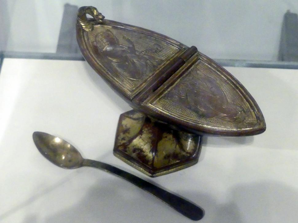 Pietro Lorenzetti: Weihrauchschiffchen, 1. Hälfte 14. Jhd.