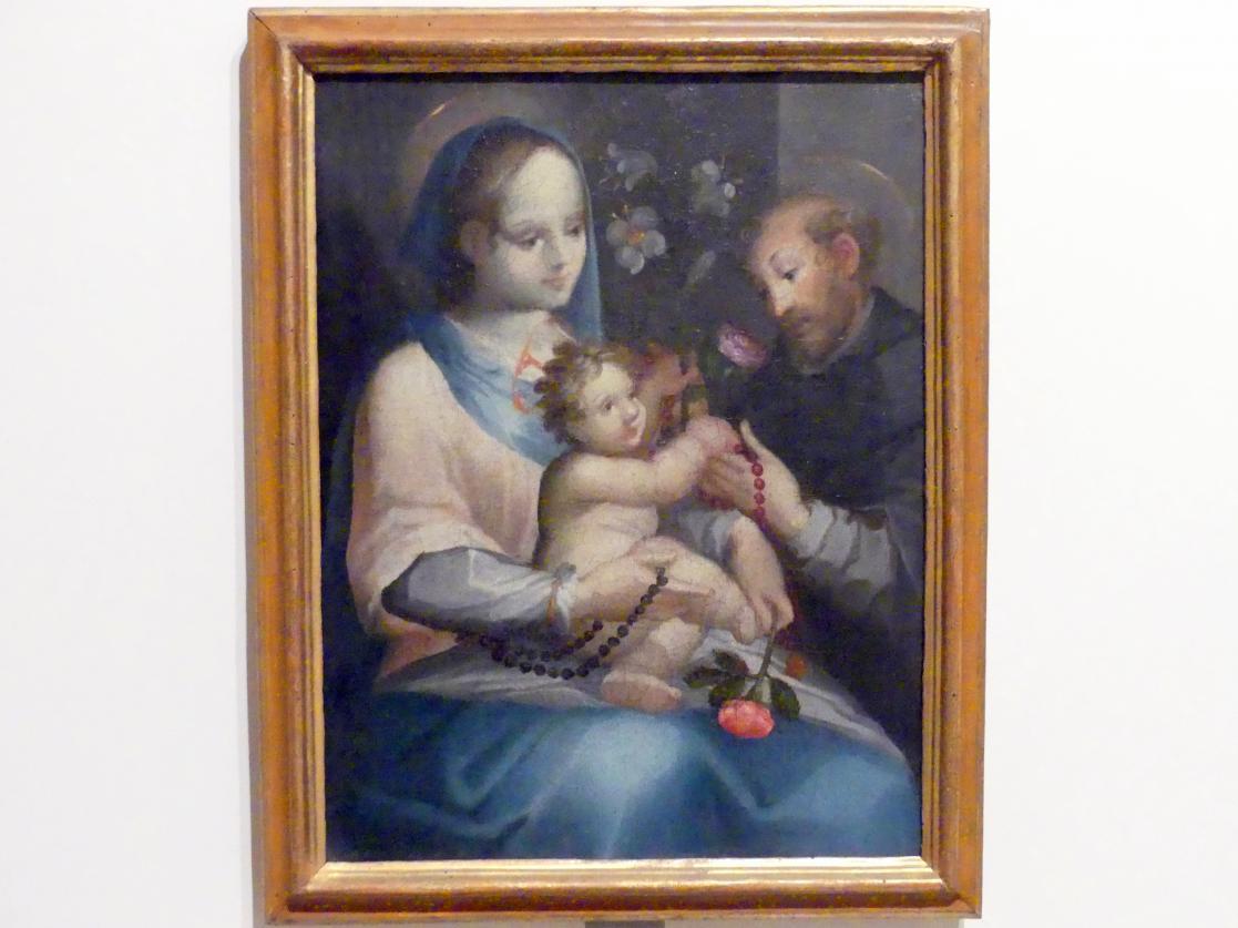 Giovanni Paolo Pisani: Rosenkranzmadonna und der hl. Dominikus, Undatiert