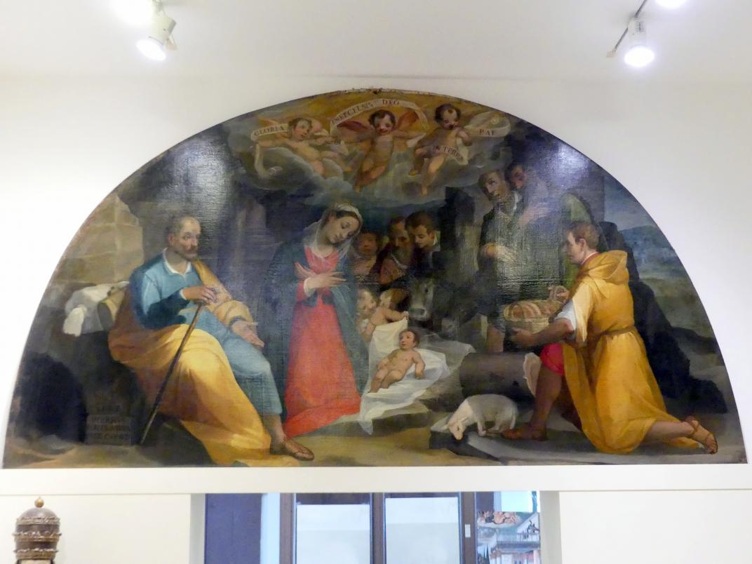Alessandro Casolani: Christi Geburt, 1597