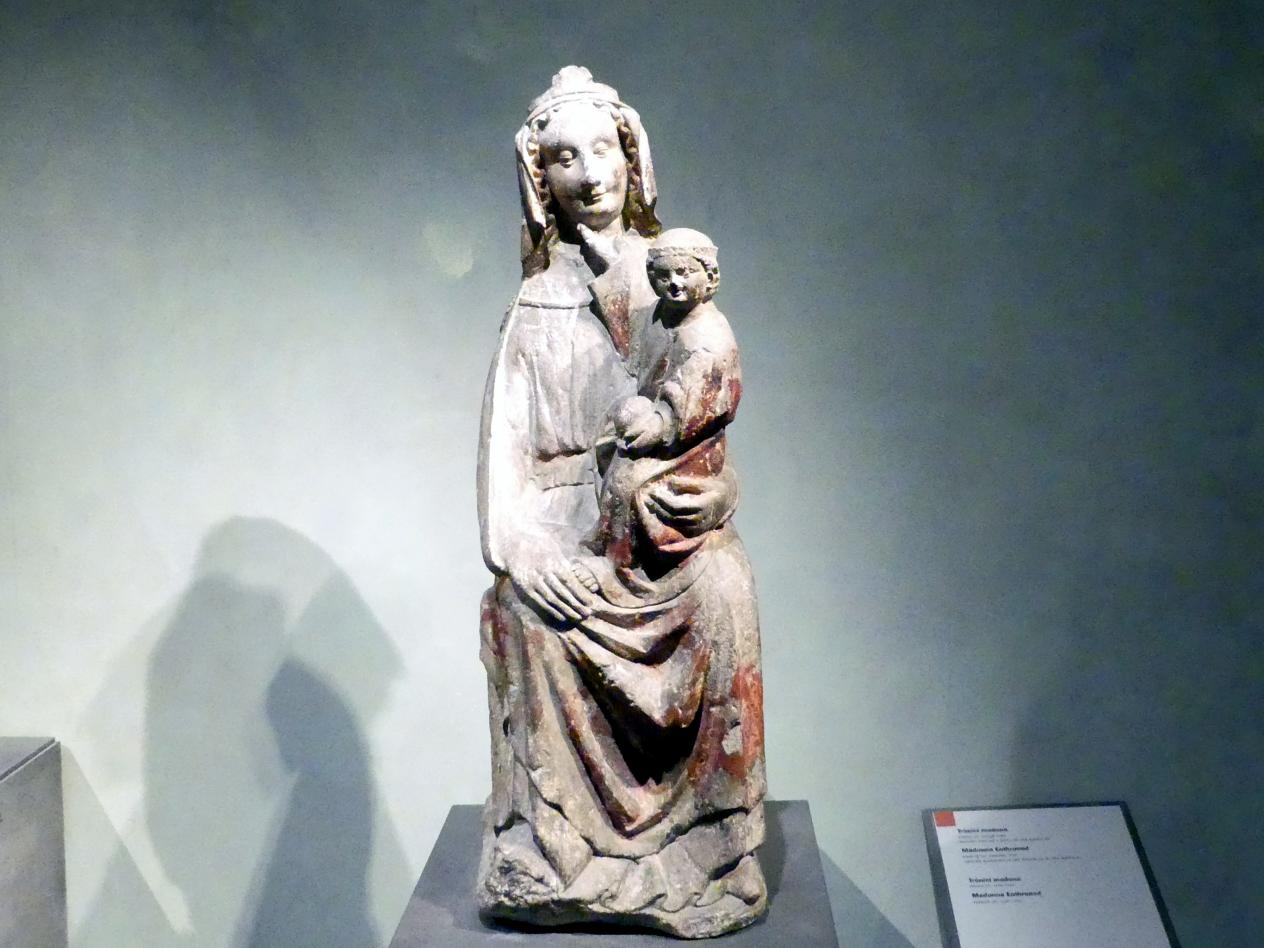 Thronende Madonna mit Kind, 1220 - 1250