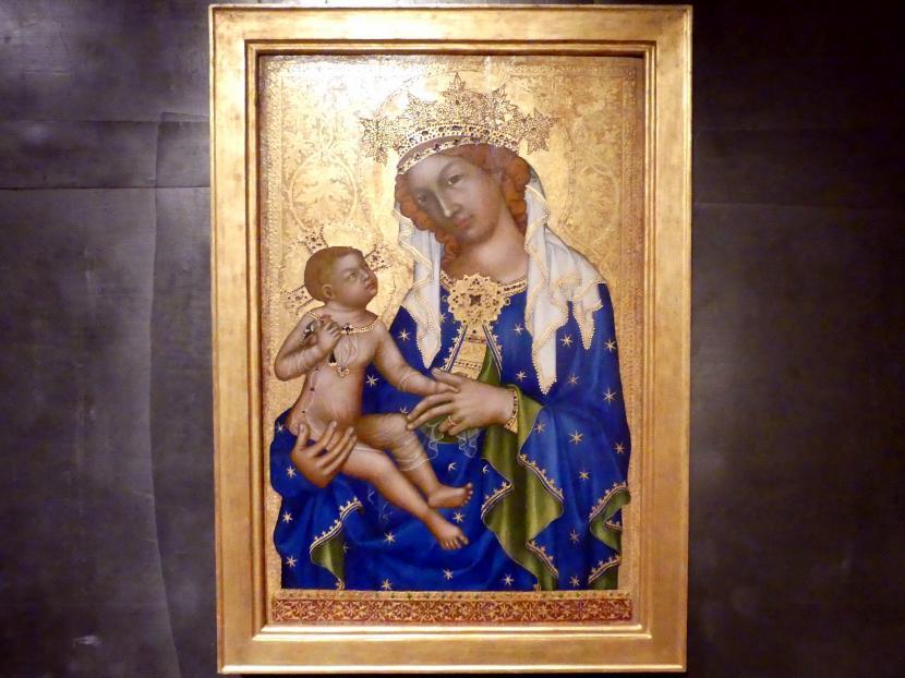 Madonna von Zbraslav, 1350 - 1360