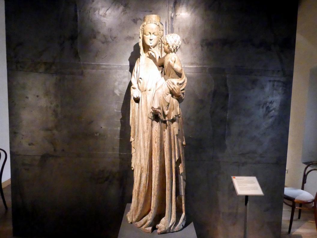 Madonna von Strakonice, um 1300 - 1320