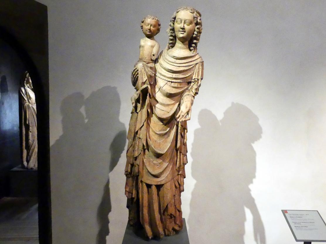 Meister der Madonna von Michle (Werkstatt): Madonna von Prostějov, um 1350