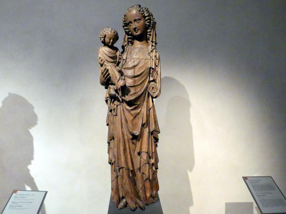 Meister der Madonna von Michle: Madonna von Michle, um 1340