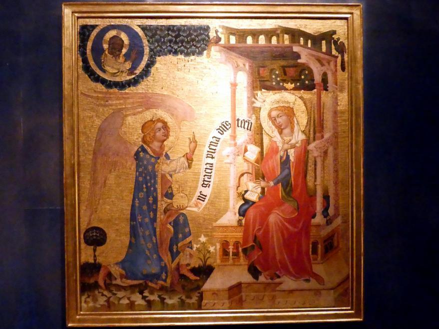 Meister von Hohenfurth: Mariä Verkündigung, um 1350