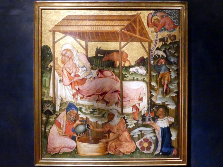 Meister von Hohenfurth: Christi Geburt, um 1350