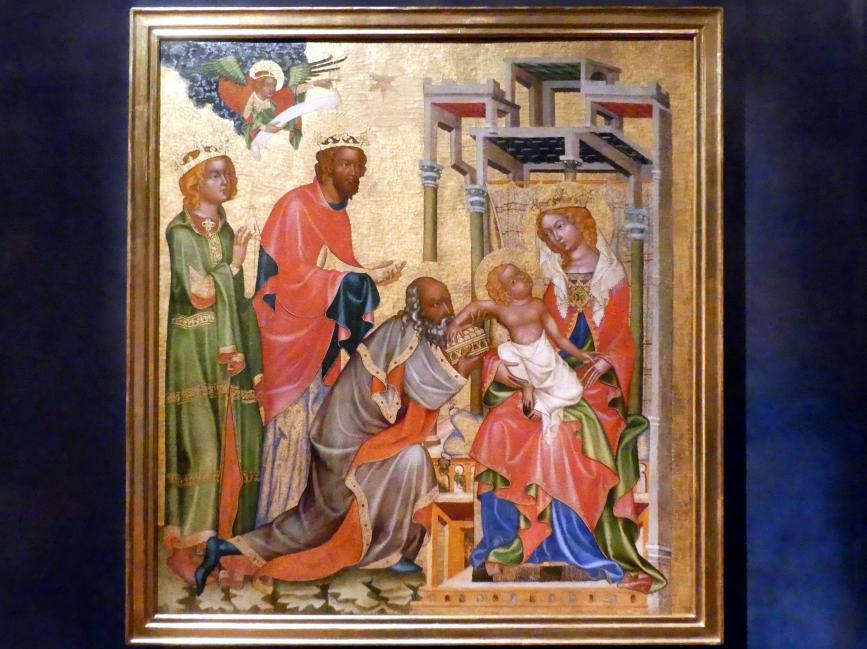 Meister von Hohenfurth: Anbetung der Könige, um 1350