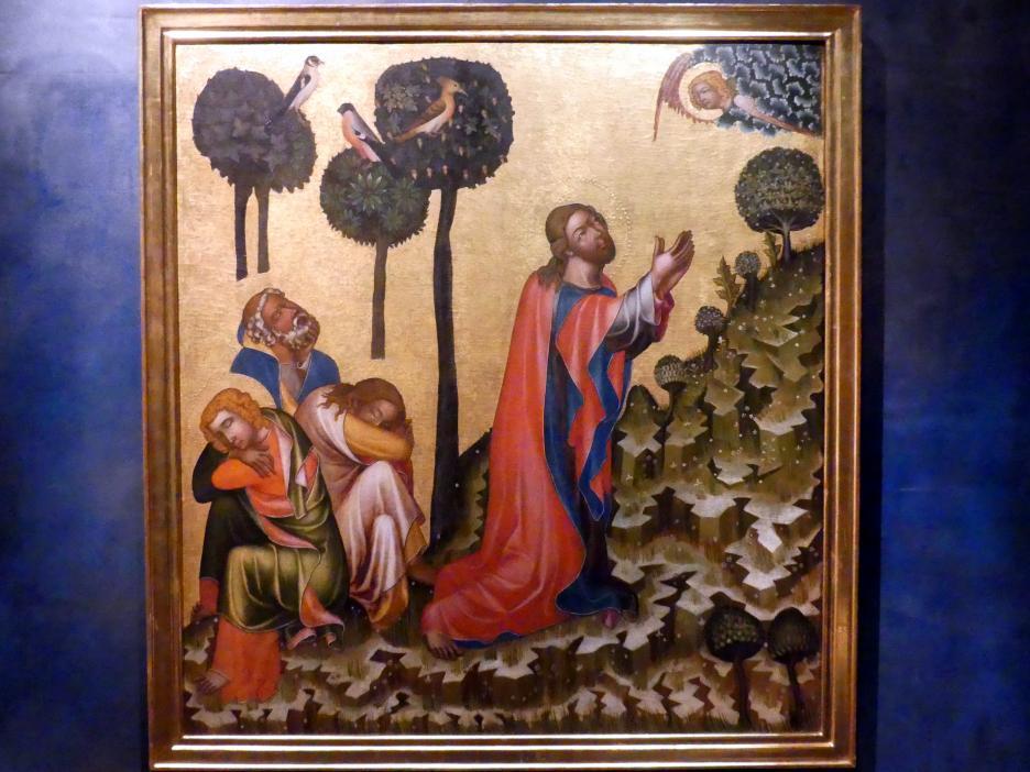 Meister von Hohenfurth: Christus am Ölberg, um 1350
