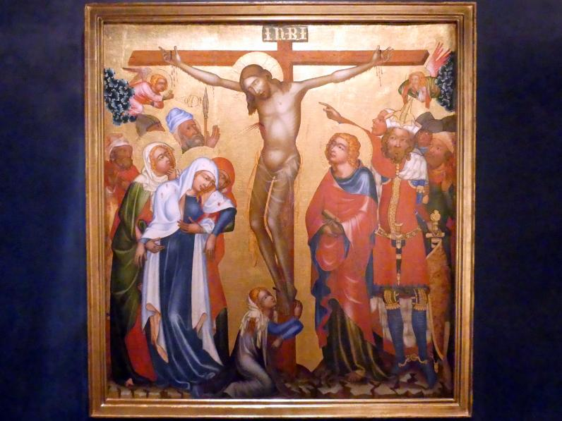 Meister von Hohenfurth: Kreuzigung Christi, um 1350