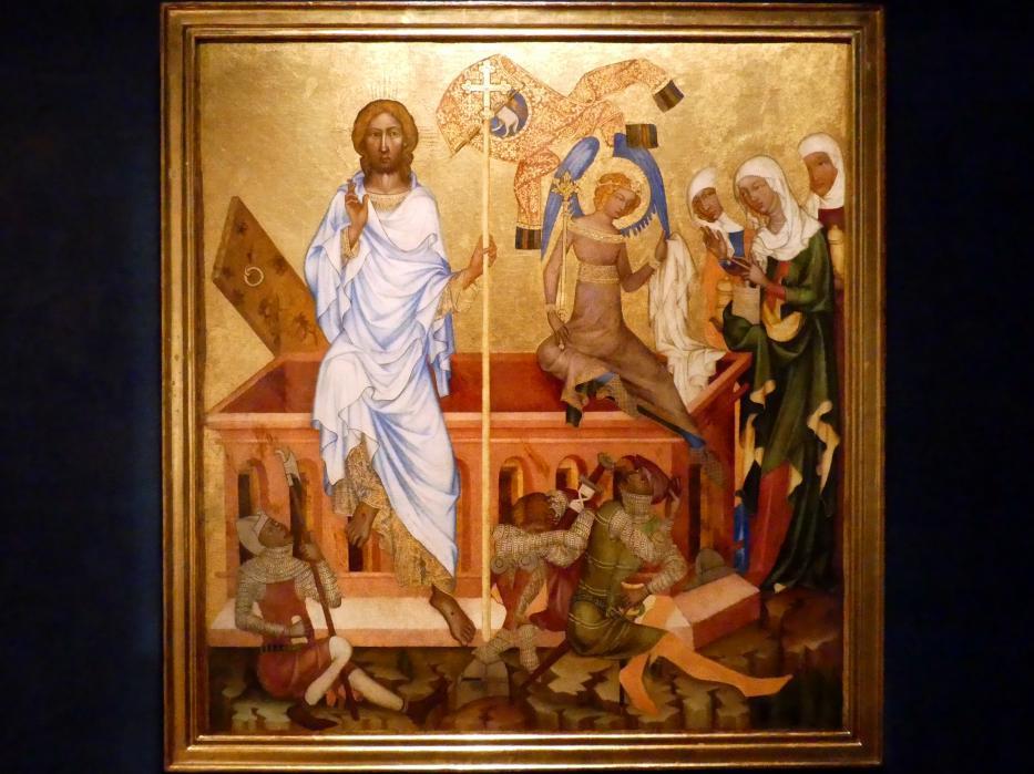 Meister von Hohenfurth: Auferstehung Christi, um 1350