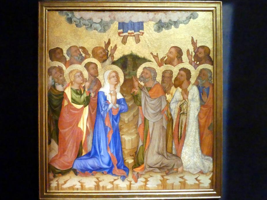 Meister von Hohenfurth: Christi  Himmelfahrt, um 1350