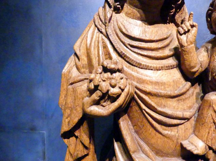 Meister der Madonna von Michle (Werkstatt): Madonna auf dem Löwen, 1340 - 1350, Bild 10/12