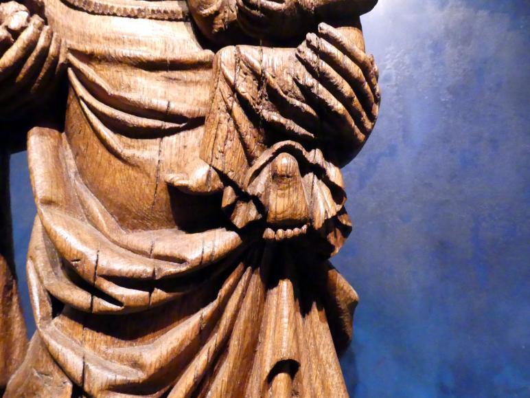 Meister der Madonna von Michle (Werkstatt): Madonna auf dem Löwen, 1340 - 1350, Bild 11/12