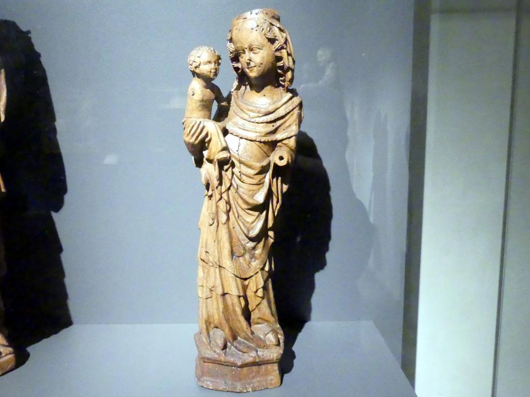 Meister der Madonna von Michle (Umkreis): Madonna von Dýšina, vor 1350