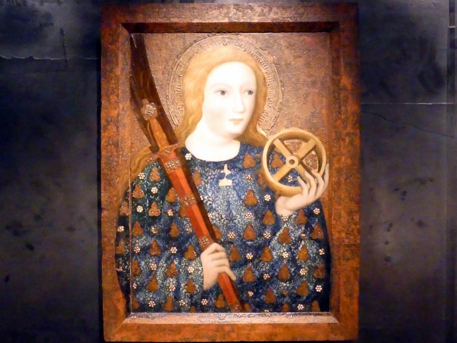 Theoderich von Prag: Heilige Katharina, 1360 - 1364