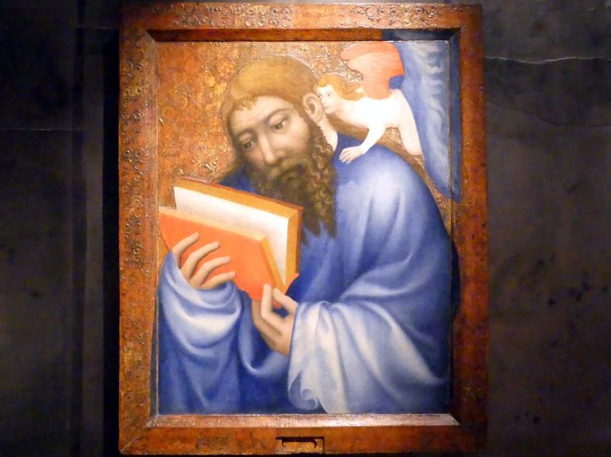 Theoderich von Prag: Evangelist Matthäus, 1360 - 1364