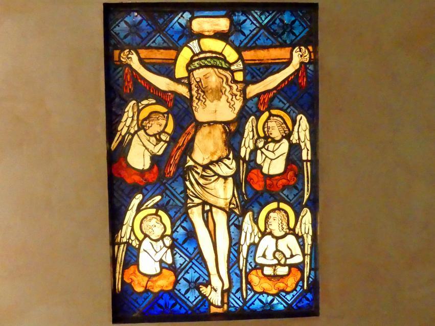 Kreuzigung, Marienkrönung, um 1365 - 1370