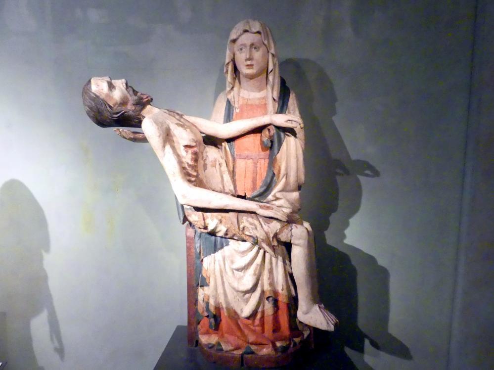 Pieta von Lásenice, 3. Viertel 14. Jhd.