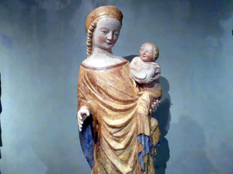 Madonna von Dolní Kalná, um 1340 - 1350, Bild 2/6