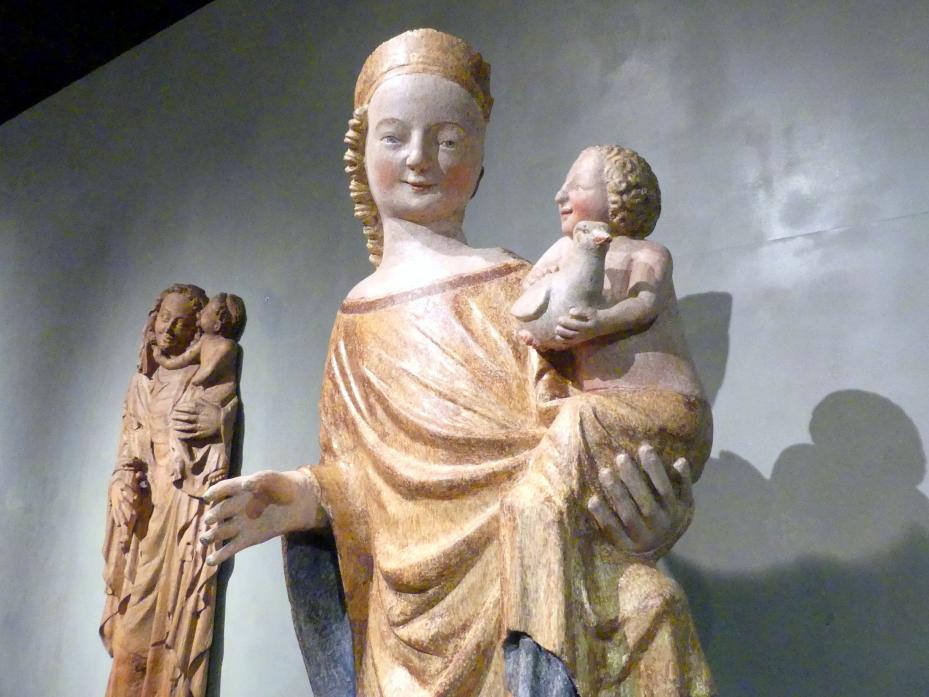 Madonna von Dolní Kalná, um 1340 - 1350, Bild 3/6