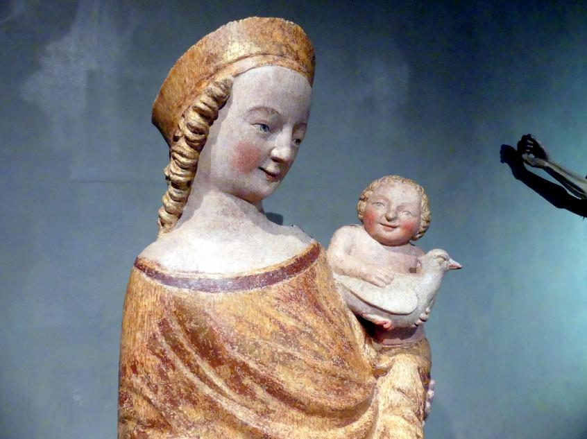 Madonna von Dolní Kalná, um 1340 - 1350, Bild 4/6