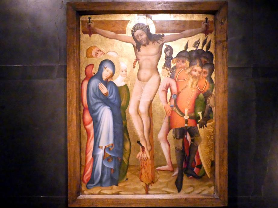 Kruzifix vom Emmauskloster, Um 1365