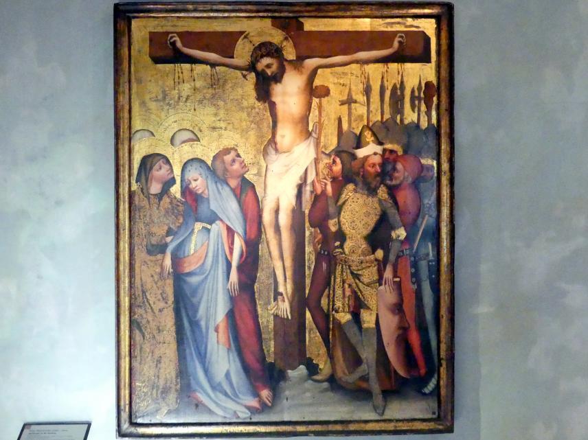 Meister von Wittingau (Werkstatt): Kreuzigung Christi, um 1390