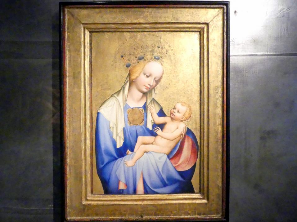 Meister von Wittingau: Madonna von Roudnice, um 1385