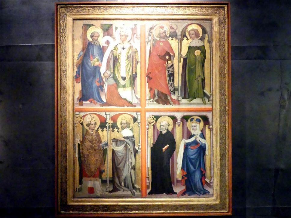 Votivtafel von Dubeček, um 1400