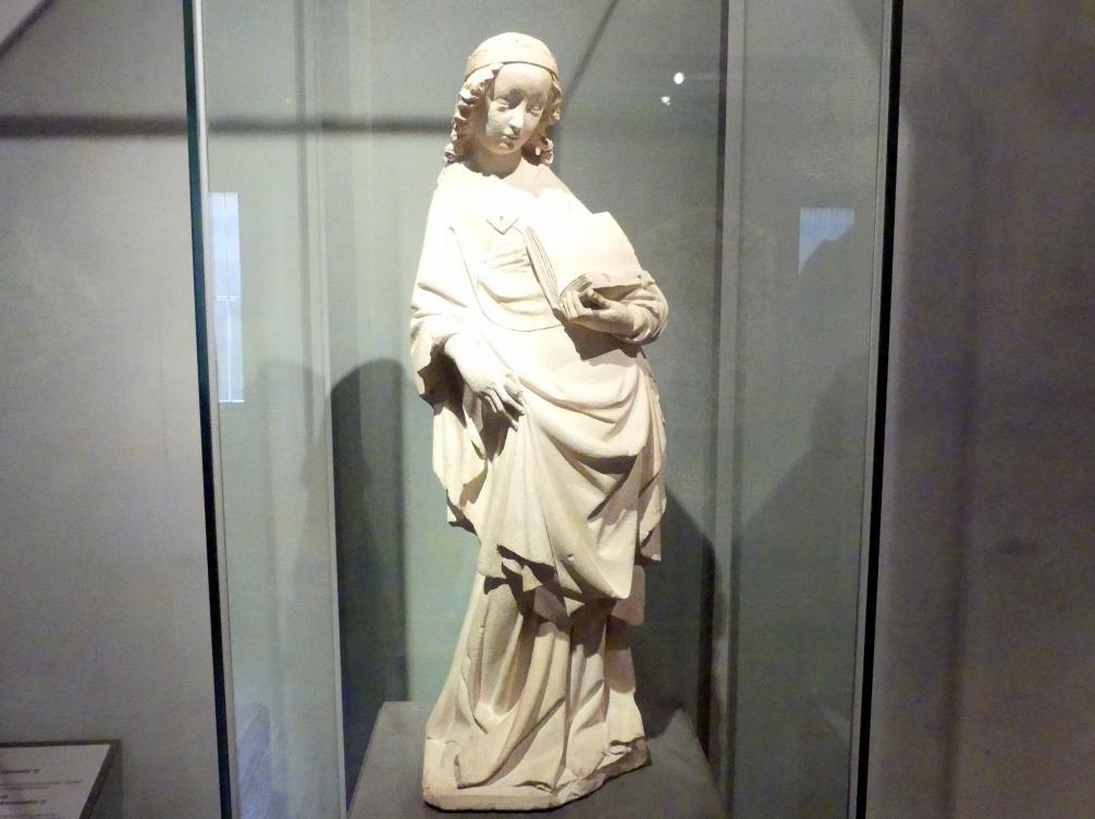 Jungfrau Maria mit einem Buch, 1380 - 1390