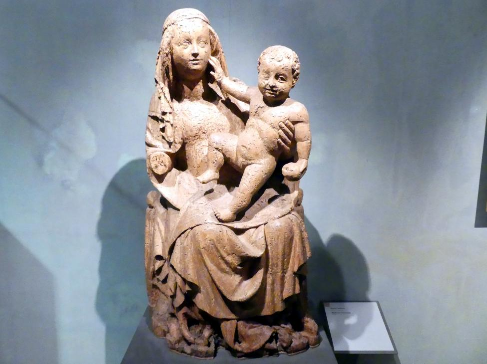 Thronende Madonna, 1380 - 1390