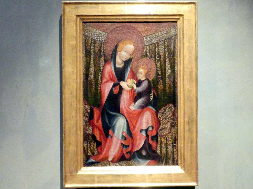 Thronende Madonna, 1390