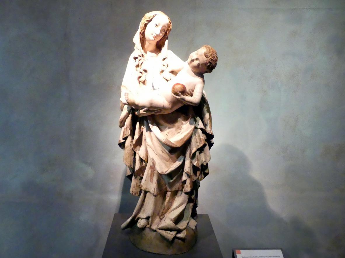 Maria mit Kind, um 1410