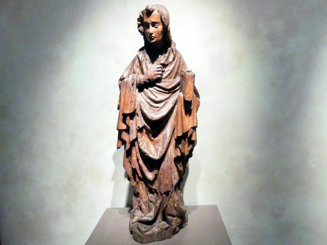 Meister des Teyner Kalvarienbergs: Evangelist Johannes, um 1430