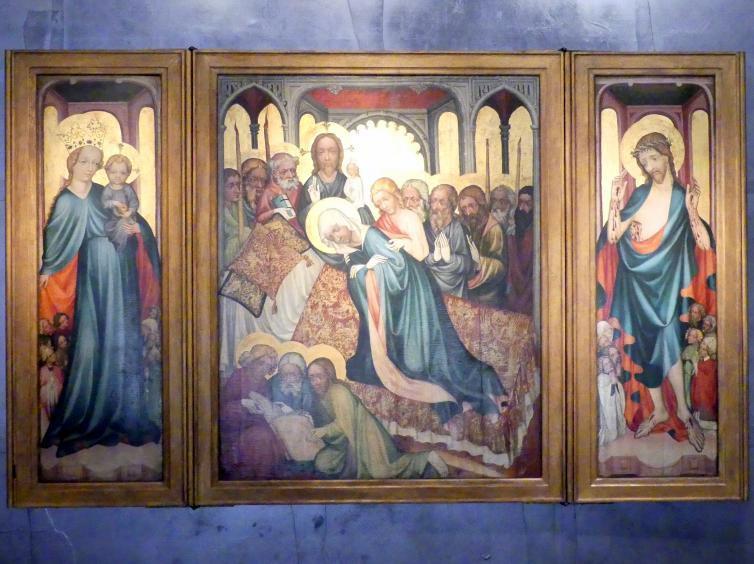 Raudnitzer Altar, um 1410