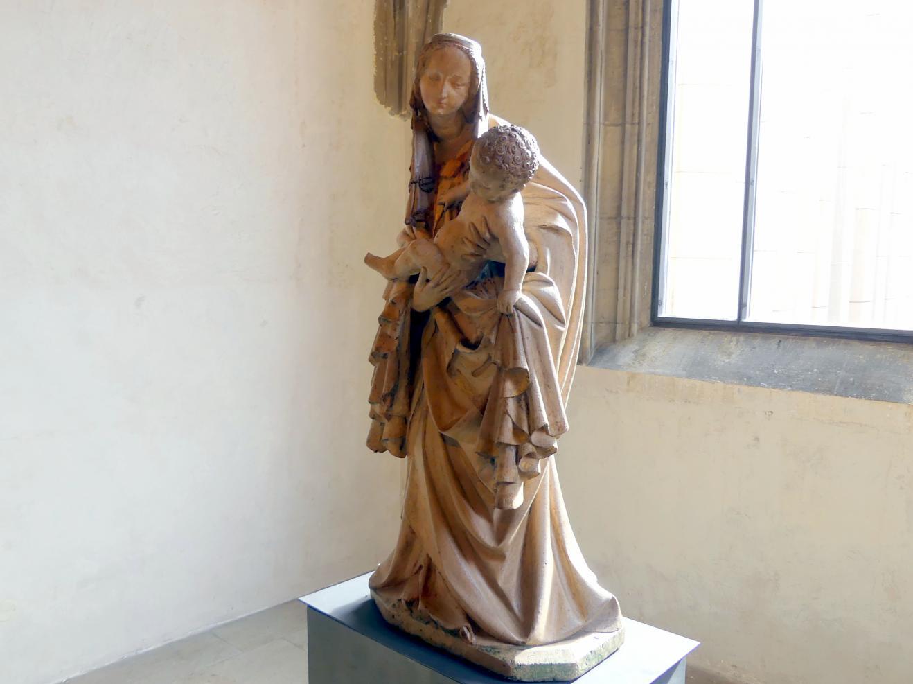 Variante der Krumlauer Madonna, um 1400