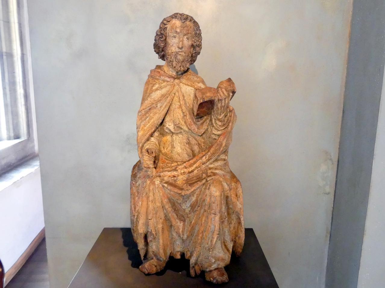 Thronender Apostel, um 1430