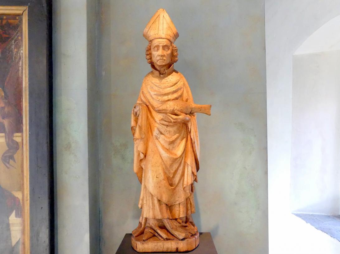 Heiliger Ulrich, um 1380 - 1390