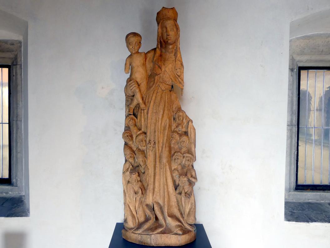 Schutzmantelmadonna, um 1430